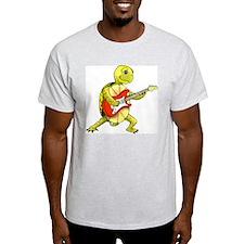 Ash Grey Rocker Turtle T-Shirt