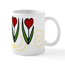 Red Tulips Mug