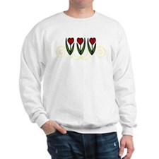 Red Tulips Sweatshirt