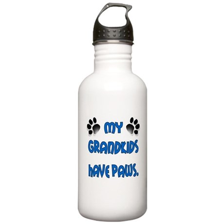 My Grandkids Have Paws Stainless Water Bottle 1.0L