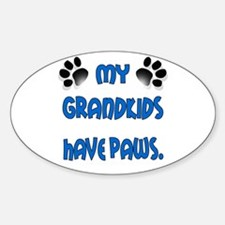 My Grandkids Have Paws Decal