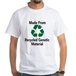 Recycled Genetic Material White T-Shirt