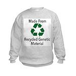 Recycled Genetic Material Kids Sweatshirt