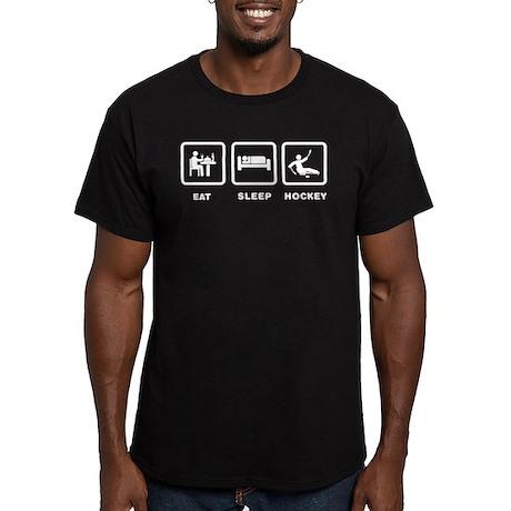 Sled Hockey Men's Fitted T-Shirt (dark)