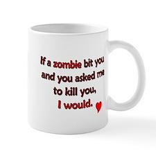 Unique Zombie valentine Mug