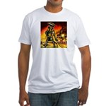 Cyclops Robot Fitted T-Shirt