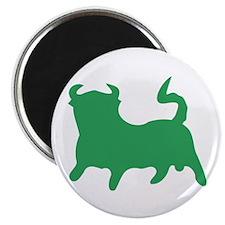 """Green Bull 2.25"""" Magnet (10 pack)"""