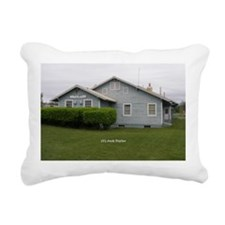 Palmer Railroad Depot Rectangular Canvas Pillow