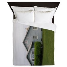 Palmer Railroad Depot Queen Duvet