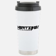 HeartzBeat Logo | Stainless Steel Travel Mug