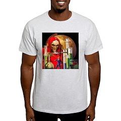 Dr. Death Ash Grey T-Shirt
