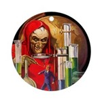 Dr. Death Ornament (Round)