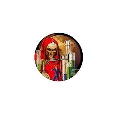 Dr. Death Mini Button (100 pack)