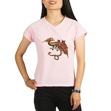 Autumn Leaf Dragon Performance Dry T-Shirt