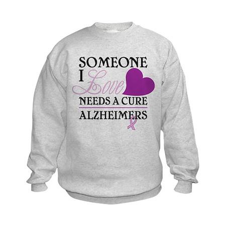Someone I Love.... Kids Sweatshirt