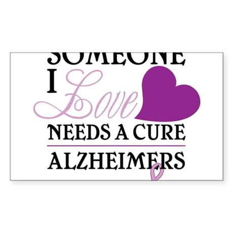 Someone I Love.... Sticker (Rectangle)