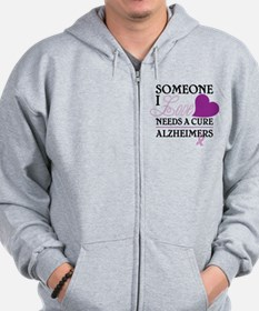 Someone I Love.... Zip Hoodie