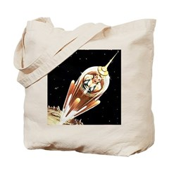 Exile In Space Tote Bag
