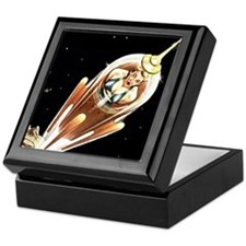Exile In Space Keepsake Box