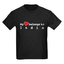 My Heart Belongs To India T