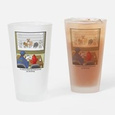 Dog Lineup Drinking Glass