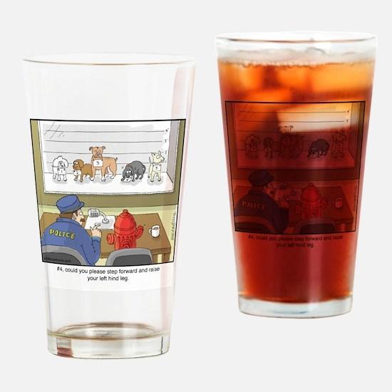 Dog Lineup Drinking Glass