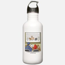 Dog Lineup Water Bottle
