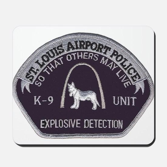 St. Louis Airport K9 Mousepad