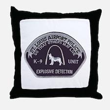 St. Louis Airport K9 Throw Pillow