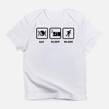 Rollerblading Infant T-Shirt