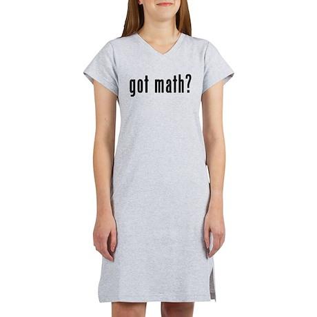 Got Math? Women's Nightshirt