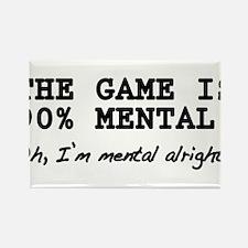"""Mental Game"" Rectangle Magnet"