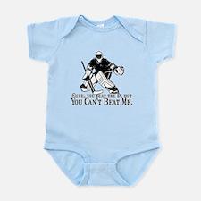 """""""Can't Beat Me"""" Infant Bodysuit"""