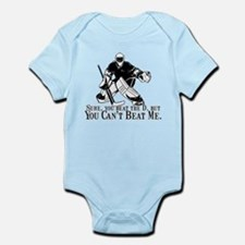 """Can't Beat Me"" Onesie"