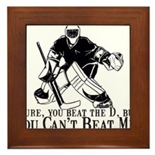 """Can't Beat Me"" Framed Tile"