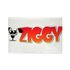 Ziggy's Logo Rectangle Magnet