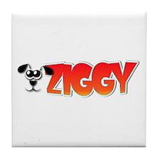 Ziggy's Logo Tile Coaster