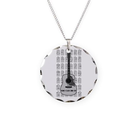 G and C 01 Necklace Circle Charm