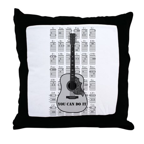 G and C 01 Throw Pillow
