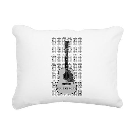 G and C 01 Rectangular Canvas Pillow
