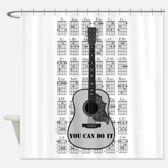 G and C 01 Shower Curtain