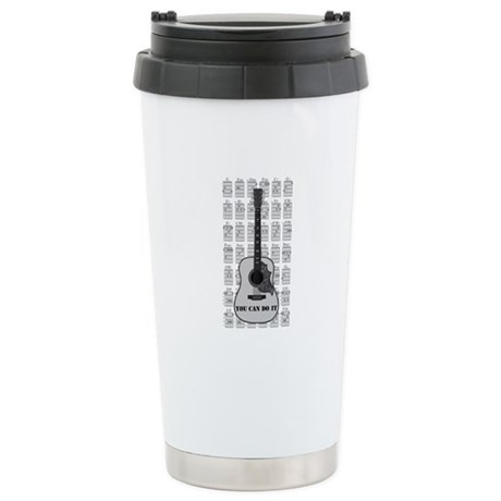 G and C 01 Stainless Steel Travel Mug