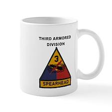 THIRD ARMORED DIVISION Small Mug