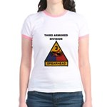 THIRD ARMORED DIVISION Jr. Ringer T-Shirt
