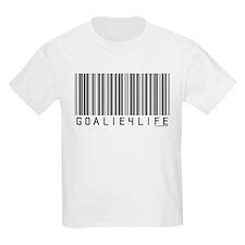 Goalie4Life Barcode T-Shirt