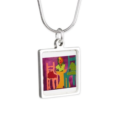Chairs.jpg Silver Square Necklace