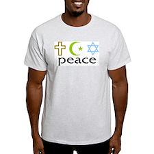 Unity of Faiths Ash Grey T-Shirt