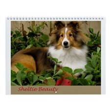 Sheltie Beauty Wall Calendar