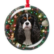 Tricolor Cavalier Ornament