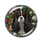 Cavalier king charles Round Ornaments